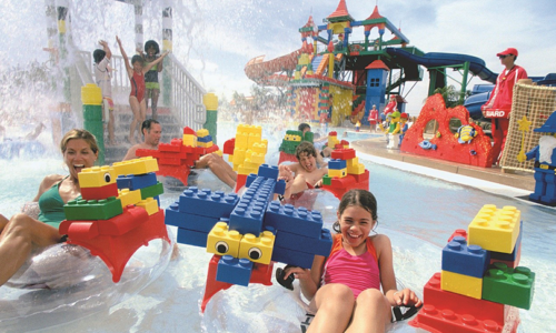 Win a Cabana for four people at LEGOLAND®'s Water Park Tropical Island Beach Party worth AED 1775!