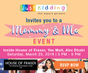 Just Kidding | Mommy and Me Event