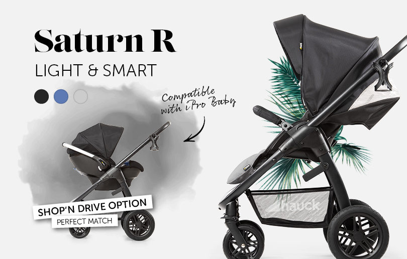 New iPro series by Hauck means you can shop & drive with ease