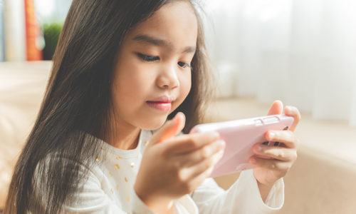 Screen time for children: How much is too much?