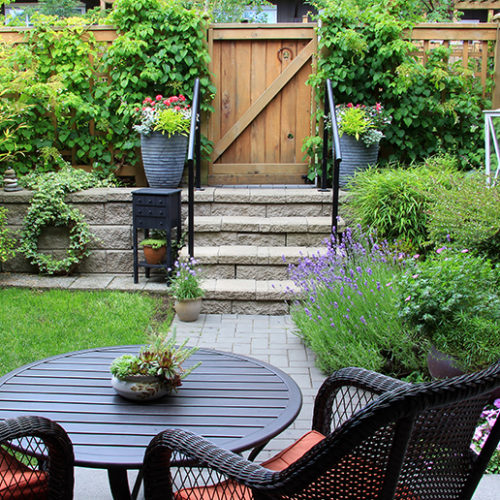 Five tips to make small gardens seem bigger