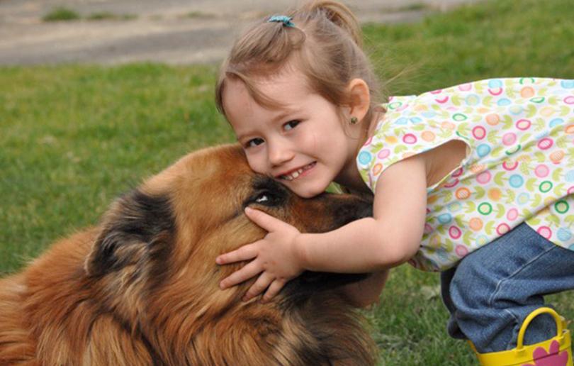 child pets