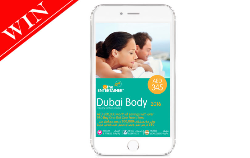WIN The Entertainer Dubai's Deal-Filled Body App!