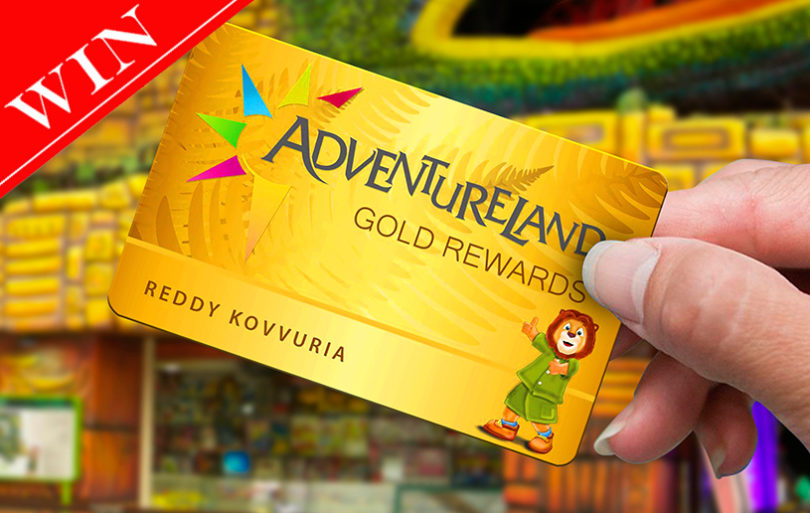 WIN a Gold Rewards Card Worth AED 300 at Adventureland