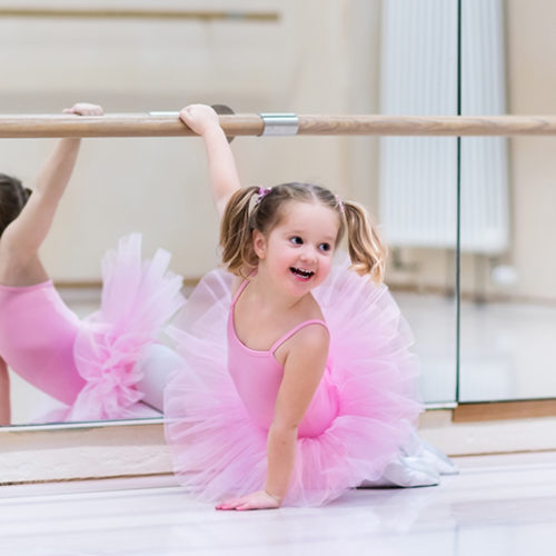 Developmental dance classes and cheerleading