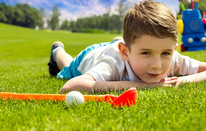 New kids' golf programme launched