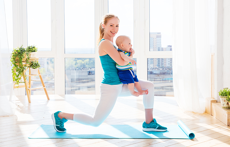 Baby-friendly fitness