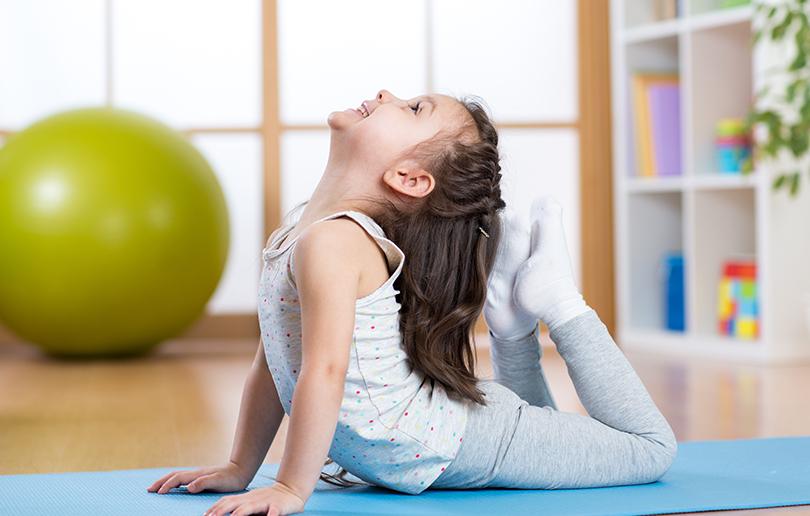 Yoga kids Dubai