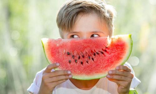 Ten fun fruit & veggie snacks for kids
