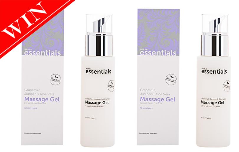 Win Herbal Essentials Massage Gels worth 370 AED!