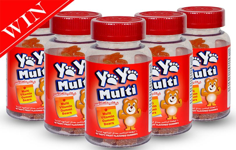 Win 5 Bottles of YaYa Multi Vitamins Worth AED 310
