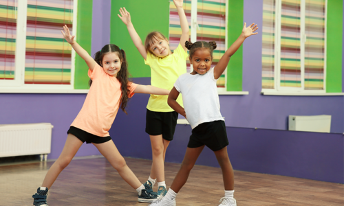 Zumba classes for kids in Abu Dhabi
