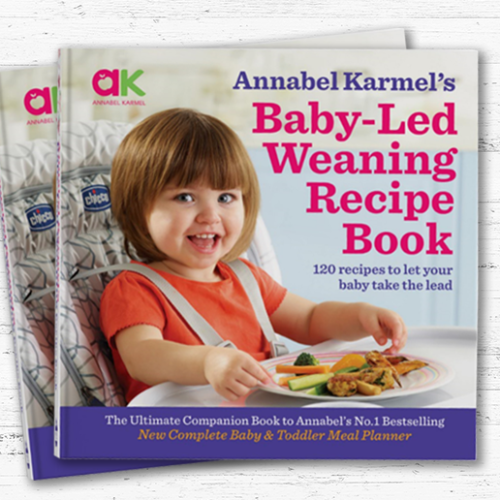 Annabel Karmel launches new baby-led weaning recipe book