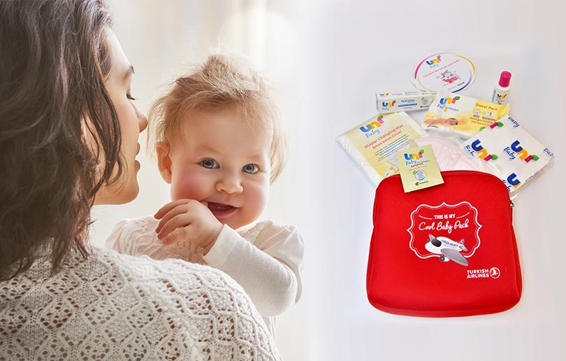 Turkish airlines baby packs