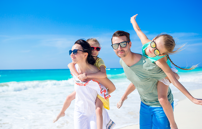 best family beaches in Dubai