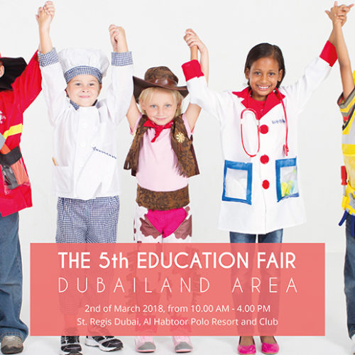 The Education Fair for Dubailand area