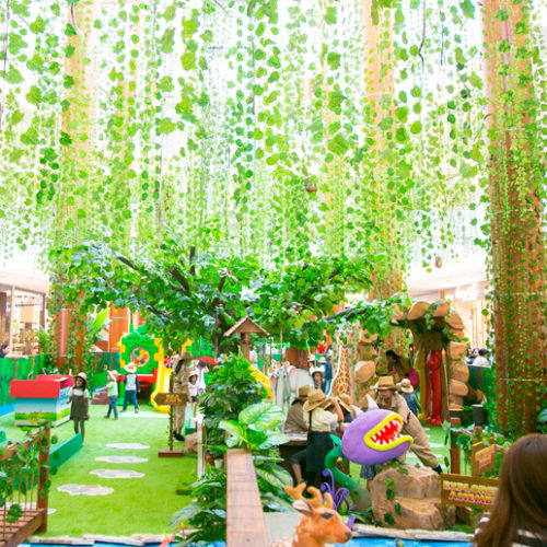 Dubai's BurJuman Mall Jungle Journey adventure is BACK!