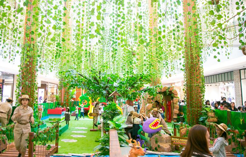 BurJuman Mall Jungle Journey