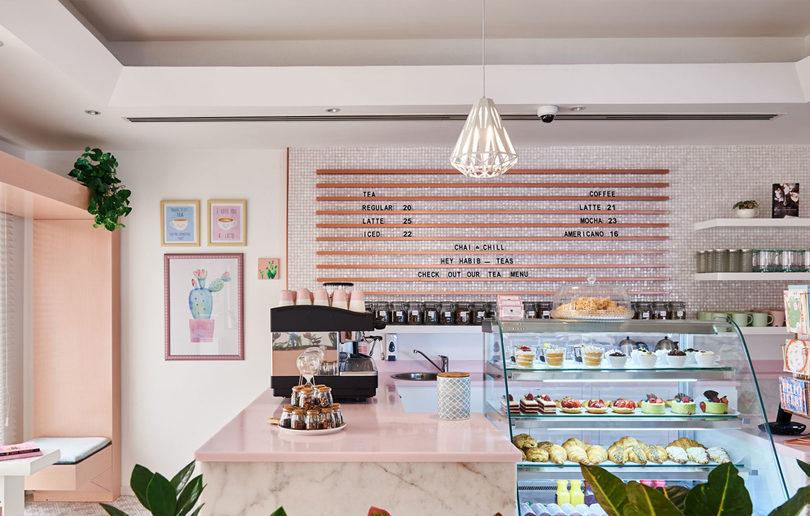 We love this beautiful new café in Dubai
