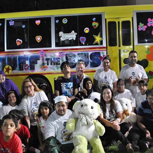 Stuff the Bus makes kids dreams come true this Ramadan