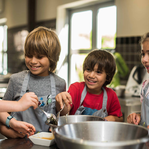 Let your little ones explore their creativity in the kitchen