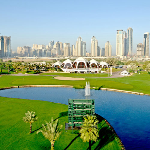 Learn a new sport at Emirates Golf Club in Dubai