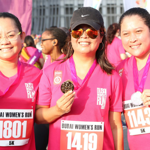 Mark your calendars! Dubai Women's Run is back