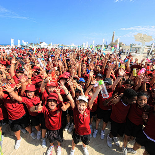 Dubai Fitness Challenge to get kids active with Disney workout video