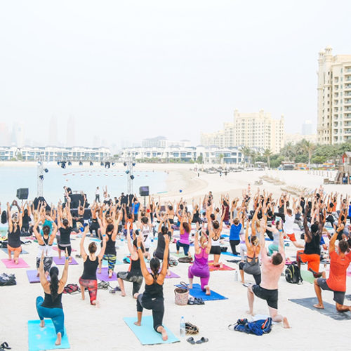 Free fitness sessions return to Palm Jumeirah this weekend