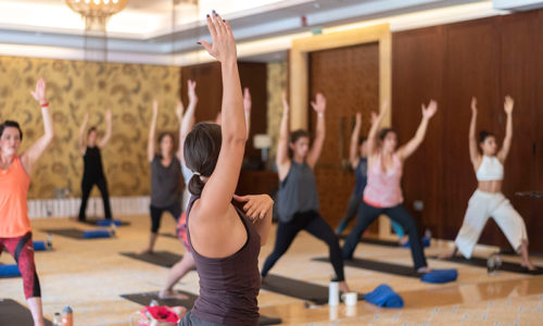 Get a yoga class, massage and pool day at this Dubai wellness session