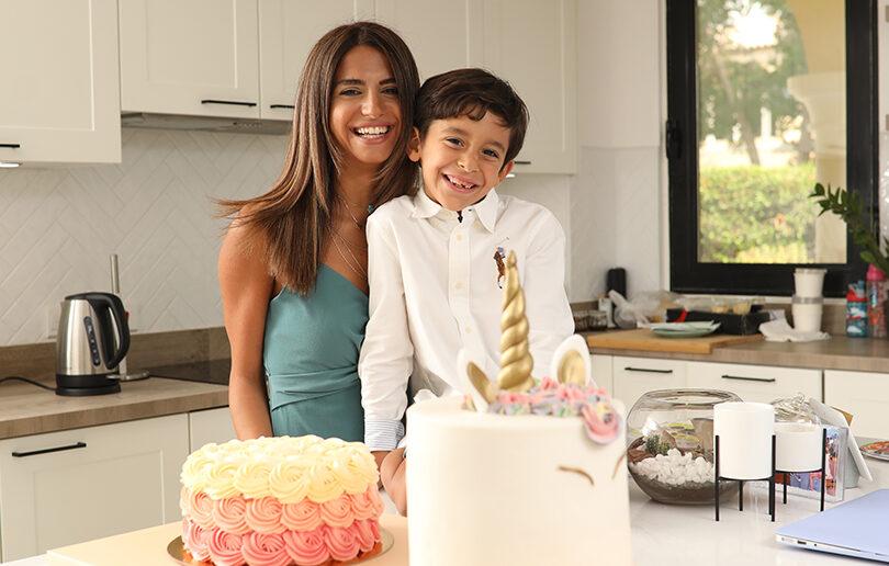 Sister, sister: Pastel Cakes founders and Mum duo, Maha & Nada Safa