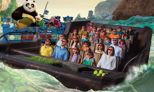 Win four one-day tickets to Motiongate™, worth over AED 950!