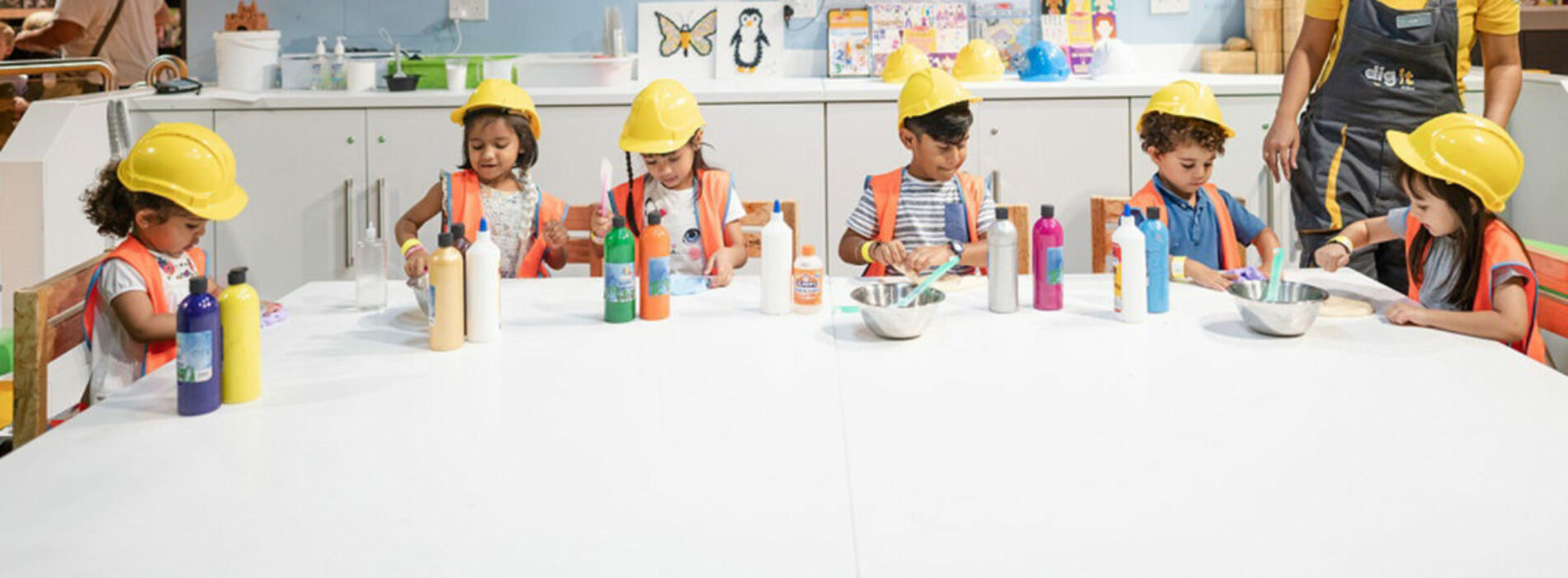 Daily fun at these interactive workshops for kids at Dig It
