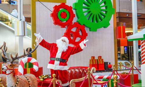 Festive family fun at The Galleria Al Maryah Island's Winter Wonderland