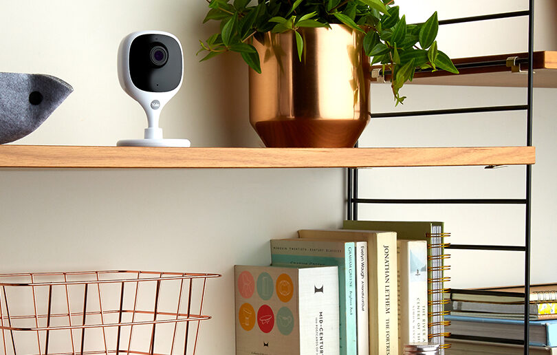 Keep a watchful eye on your little ones with the Yale Indoor Camera