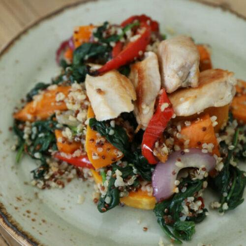 Recipe: Chicken Quinoa Bowl