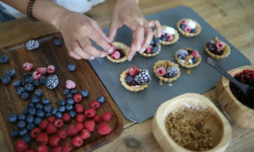 Recipe: Mini Fruit Tarts