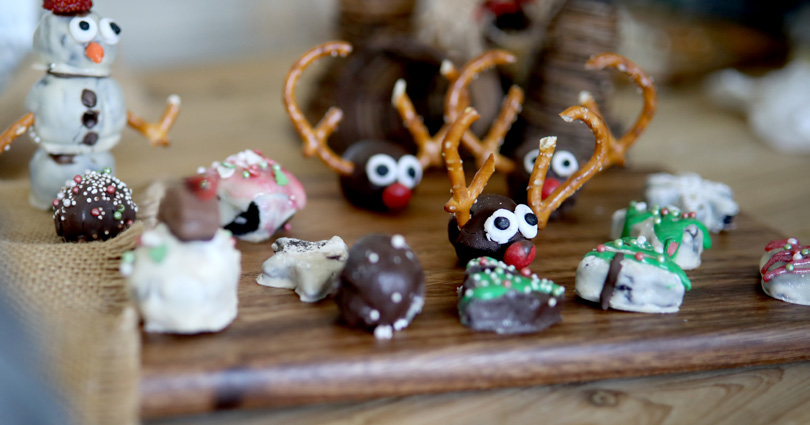 christmas oreo treats