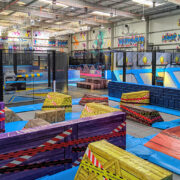 Half-price entry to this indoor parkour playground this month