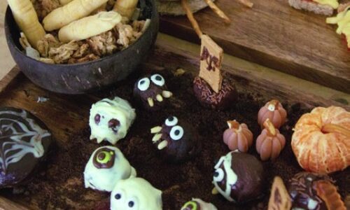 Recipe: Halloween Brownie Bites