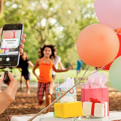 Capture every moment with SanDisk's mobile storage solutions