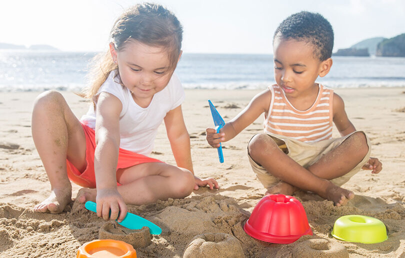 Enjoy a day at the beach with Hape Sand Toys