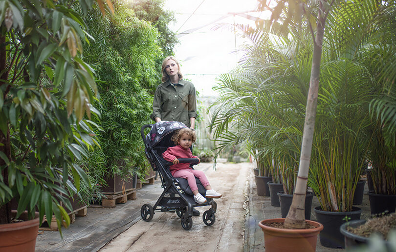 The Sunny stroller: lightweight, compact and the perfect all-day companion