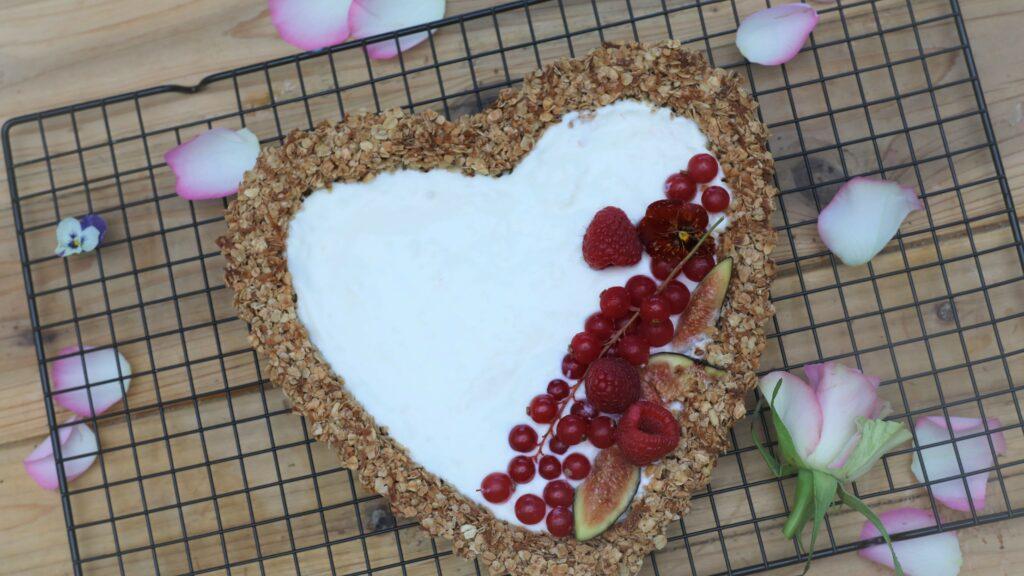 Coconut Granola Tart Recipe