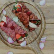 Recipe: Pretty Pink Waffles