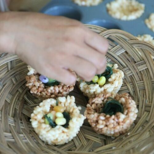 Recipe: Easter chick nests