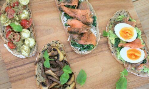 Recipe: Healthy Toast four ways
