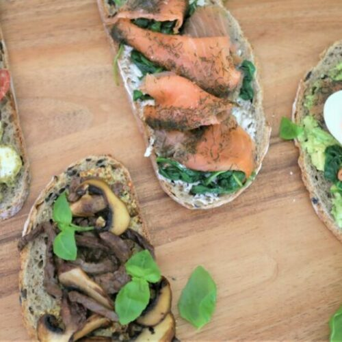 Recipe: Healthy Toast four ways