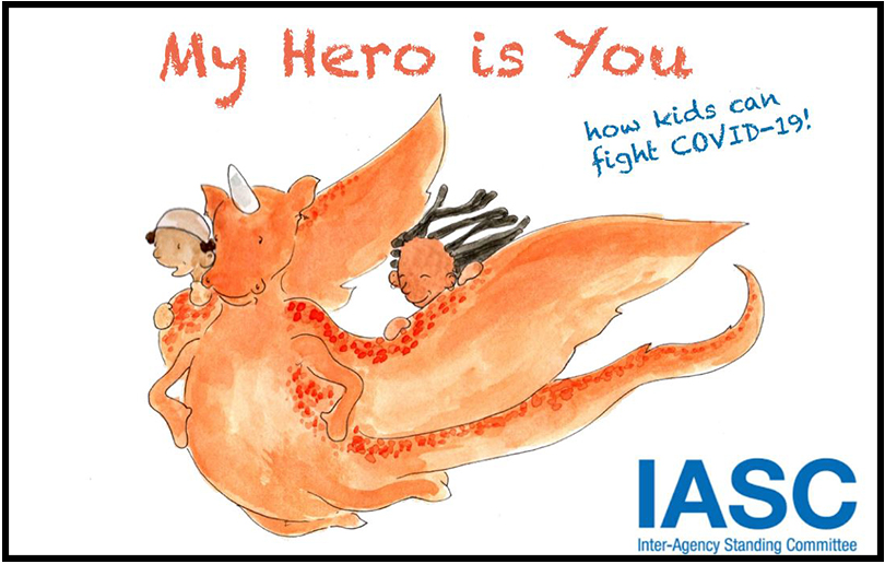 My Hero Is You: How kids can fight COVID-19!
