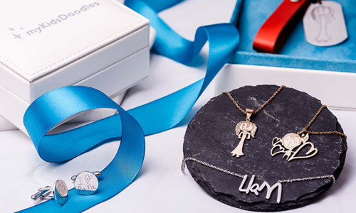 WIN JEWELLERY FROM MY KIDS DOODLES, WORTH OVER AED500!